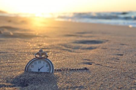 21002852 - time, clock, beach